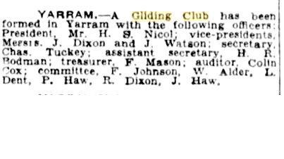 Yarram Gliding Club